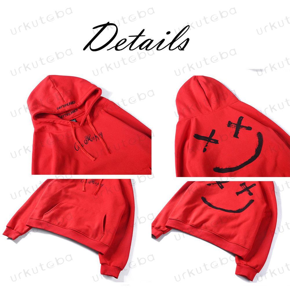 H198b1e97a69a4ed1ac5aa494fe92985eJ Hot Sale Fashion Plus Size 3XL Hip Hop Street Wear Men Hooded Hoodies Smile Print Sweatshirts Tops Hoodie Clothes