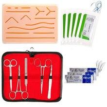 Kit de sutura com tudo incluído para desenvolver e refinar técnicas de sutura frete grátis