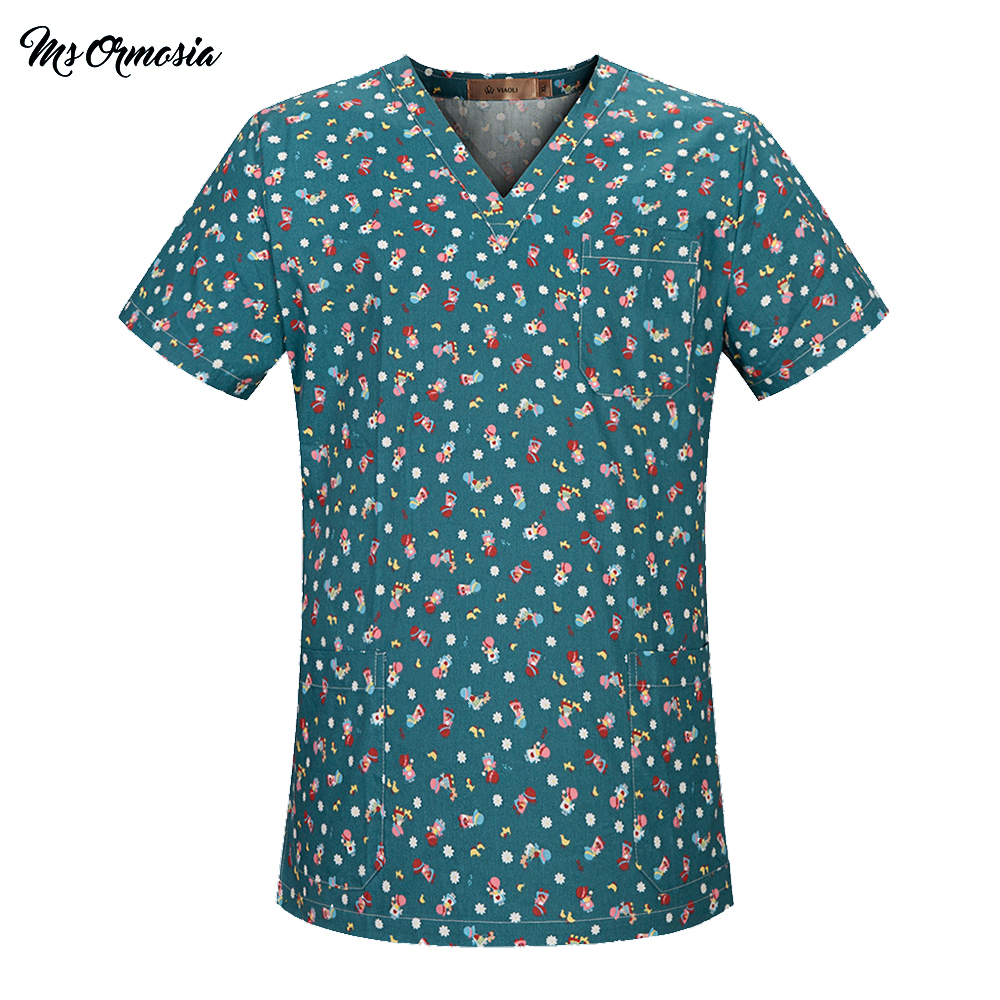 New Cotton Medical Clothing Top Pant Surgery Cloths Medical Scrubs Dental Nursing Uniform Surgical Gown Shirts For Women And Men