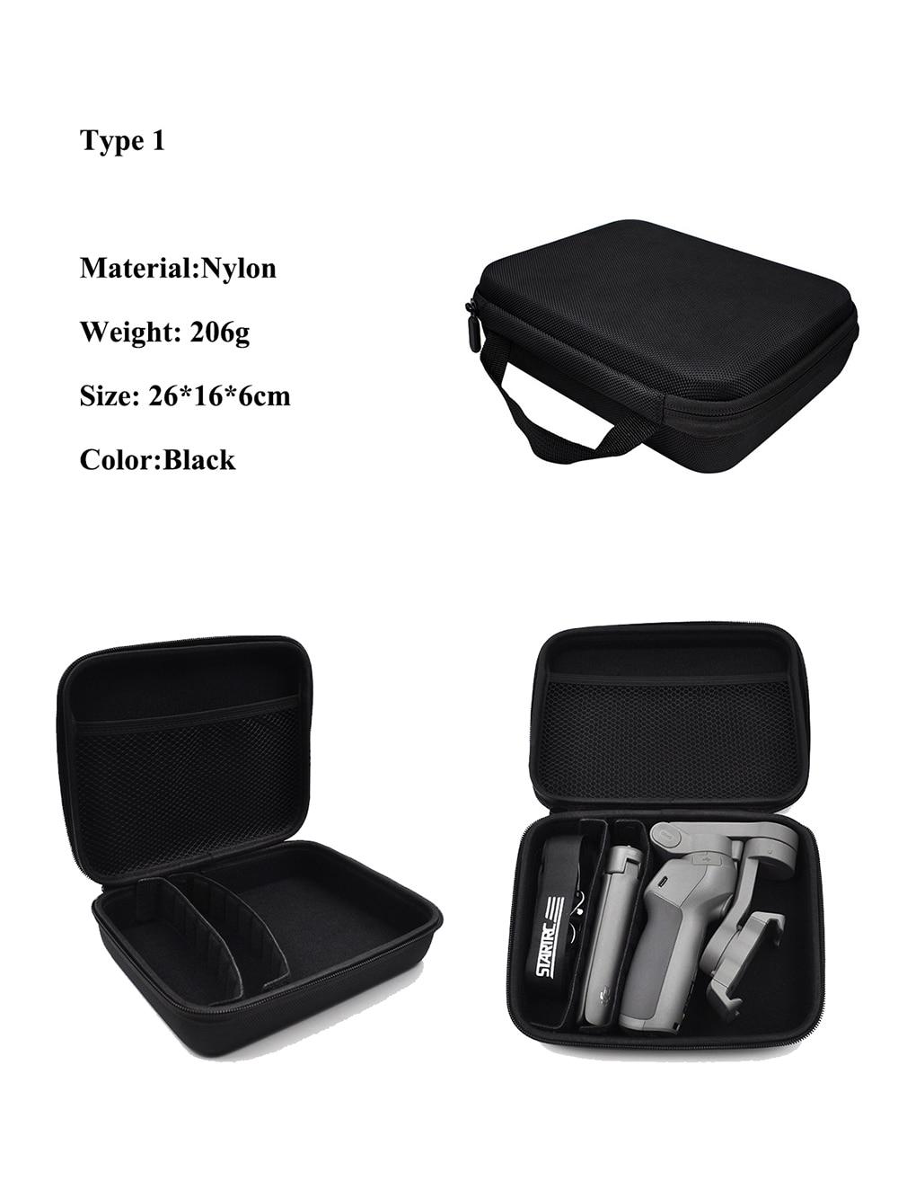 STARTRC Osmo Mobile 3 Carry Case Portable Mini Hard Travel Storage Bag PU M0I5