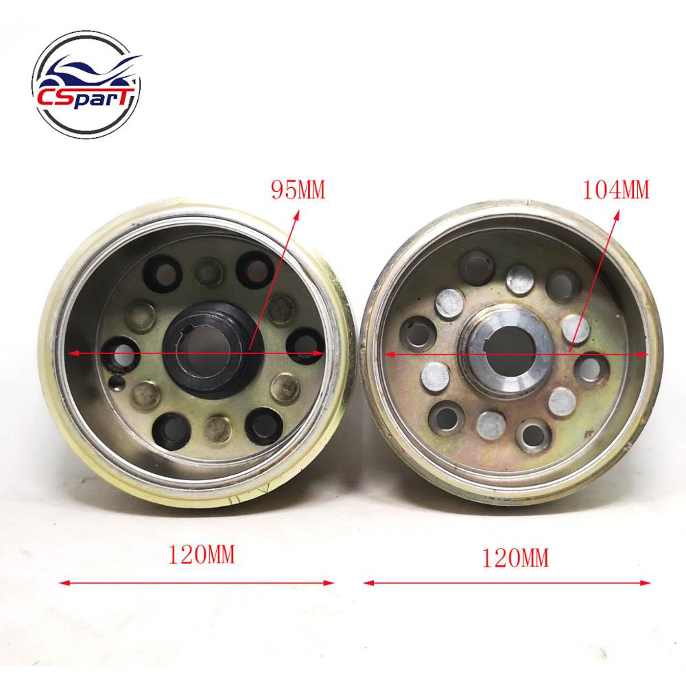 LINHAI Buyang MAJESTY YP250 250 260 300 ATV QUAD FLYWHEEL ROTOR ASSY MAGNETO COIL COVER 95mm 104CM