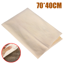 70*40cm Natural Chamois Leather Car Cleaning Cloth Genuine Leather Wash Suede Absorbent Quick Dry Towel Streak Lint viking 913310 genuine leather chamois 3 square feet