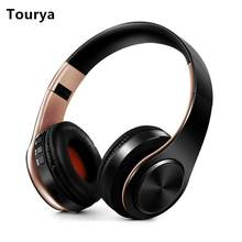 Tourya B7 Wireless Headphones Bluetooth Headset Foldable Headphone Adjustable Earphones With Mic for phone Pc Lattop Mp3 TV(China)