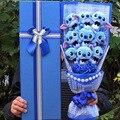 9 Styles Kawaii Stich Seife Blume Plüsch Spielzeug Anime Stich Weiche Stofftier Puppe Romantische valentinstag Geschenk keine box