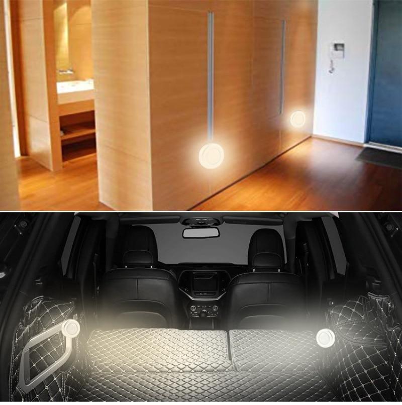 6 LED Cool Portable Wireless Motion Sensor Night Light Led Lights for Home Living Room