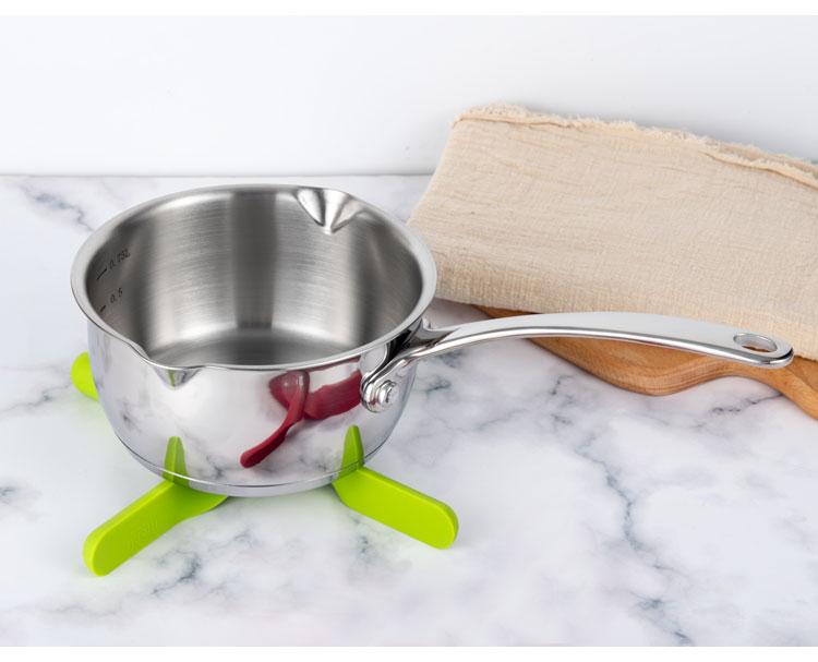 750 мл мини шоколадный молочный соус кухонная кастрюля для пикника горшок из углеродистой стали нагревательный горшок без кастрюли