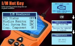 Image 2 - VIDENT iEasy200 OBDII/EOBD + CAN kod okuyucu motoru OBD2 tarayıcı çok dilli ücretsiz güncelleme PK ELM327