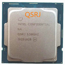 Intel Core i5-10600K es i5 10600 es QSRJ 3,5 GHz шестиядерный 12-Hilo de CPU L2 = 1,5 M L3 = 12M 125W LGA 1200
