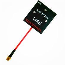 FPV панель/патч с высоким коэффициентом усиления 5,8 ГГц 14DBi видео/аудио приемник антенна для дальнего действия