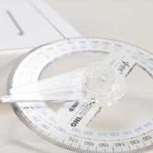 Painting-Tool Protractor 1pc 360-Degree-Measuring-Tool Stationery Pointer Craftsman-Supplies