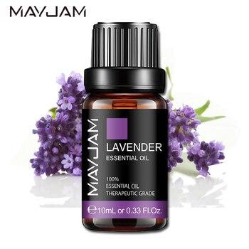цена на 10ML Aroma Oil Diffuser Pure Natural Essential Oils Lavender Jasmine Eucalyptus Vanilla Lemon Ylang Ylang Bergamot Tea Tree Oil