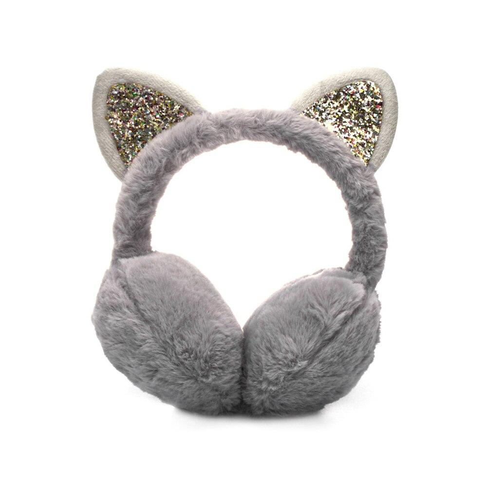 Зимние наушники для ушей, теплые детские милые утепленные плюшевые наушники с единорогом, новинка, высокое качество, покрытие для ушей, теплые аксессуары, детские подарки - Цвет: 3