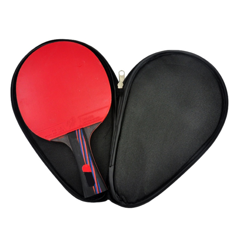 Portable PU Waterproof Bag Table Tennis Racket Case Bag For Ping Pong Paddle Bat Cover Ping Pong Accessories