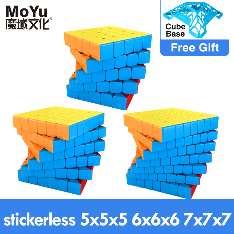 Magic-Cube Puzzle Meilong Kids Toys Profissional GTS Magnetic MOYU Speed-7x7 9x9