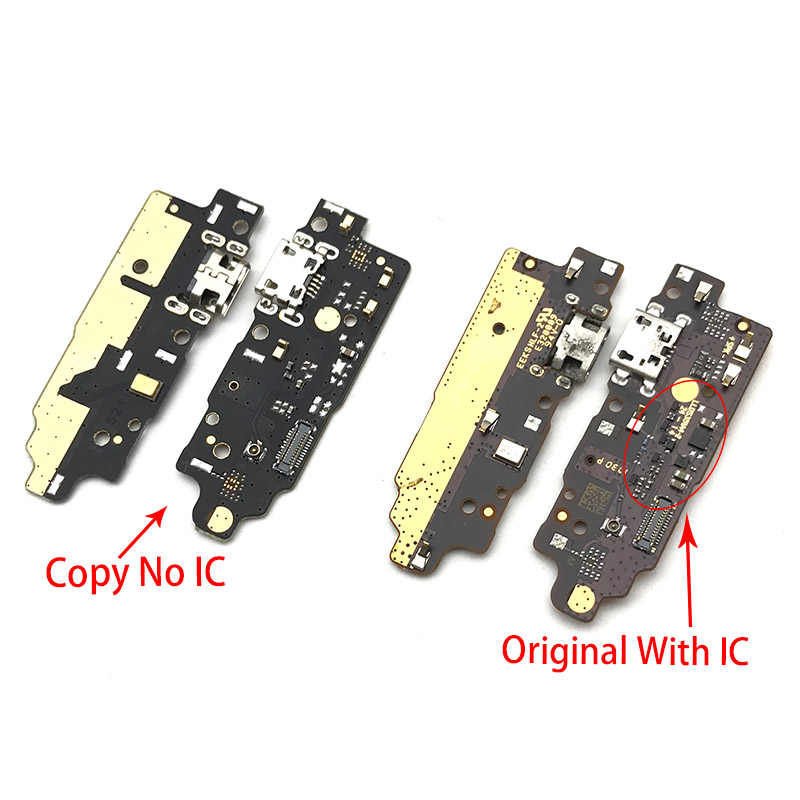 Dock Connector Micro USB Charger  For Lenovo K8 Plus Xt1902-2  Charging Port Flex Cable Board With Microphone Replacement Parts