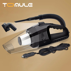 TOMULE Handheld Car Vacuum Cleaner Portable Powerful Auto car cleaning tools LED lighting or Home Wet/Dry mini vacuum cleaner