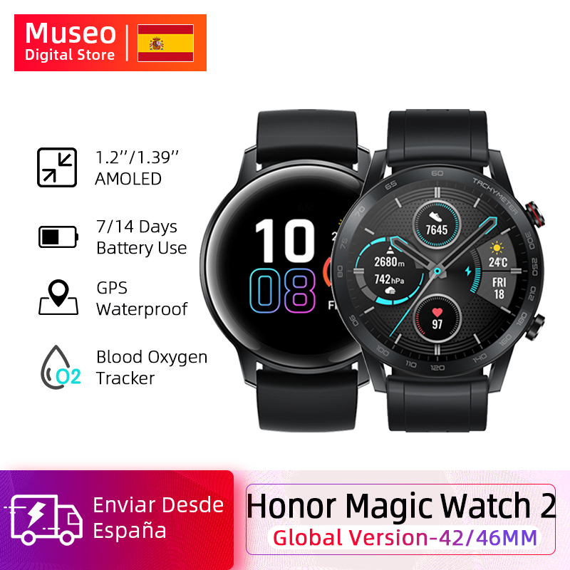 Global Version Honor Magic Watch 2 Smart Watch Bluetooth 5.1 42MM/46MM Up To 14 Days Waterproof Sport Watch Dual Mode