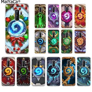MaiYaCa Hearthstone card back classic Soft TPU Phone Case for Samsung S10 S9 plus S6 edge plus S7 S7edge S8 S8plus S9 S10 plus(China)