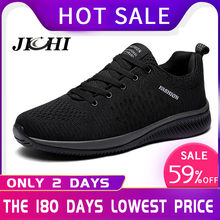 Comfortable Casual Shoes Men Breathable Walking Shoes Lightweight Sneakers Black Footwear Men Lace Up Running Shoes Men Big Size(China)