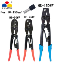 Crimping plier tools for large tubular terminal Japanese style capacity 10 150mm2 wire press pliers tools for electrician