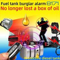 24V Truck Anti stolen oil burglar car alarm system small trucks vehicle Protect the fuel tank or diesel cab safe chadwick 8171