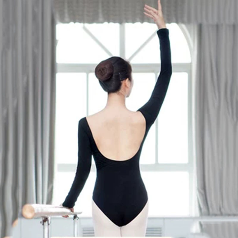 Ballet Leotards For Women New Arrival Long Sleeve Comfortable Practice Dance Costume  Spandex Backless  Jumpsuit
