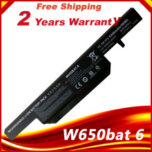 w650bat 6 Laptop battery for Hasee K610C K650D K570N K710C K590C K750D series Clevo W650S W650BAT 6 batterie