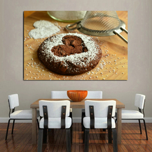 Cake In Progress Art Poster Picture Modern Wall Art Canvas Painting