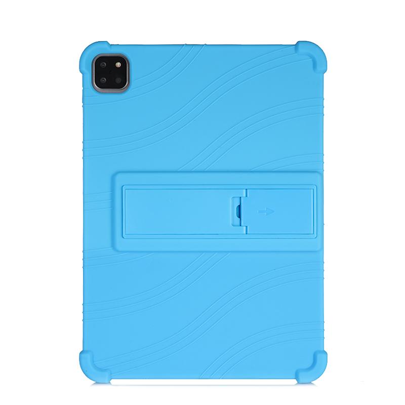 Light Blue White SZOXBY For iPad Pro 11 Case 2020 Flip Silicone Soft Cover For iPad Pro 11 2nd