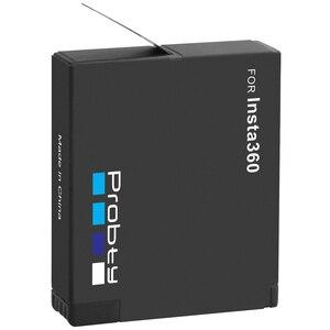 Image 5 - Insta360 ONE X batería de 3,8 V y 1400mAh, Micro USB cargador de batería, compatible con lectura y escritura de tarjetas TF al mismo tiempo