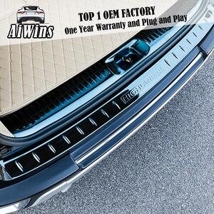 Автостайлинг Aiwins для Toyota горlander 15-19, накладка из нержавеющей стали для порога двери, Защитная панель