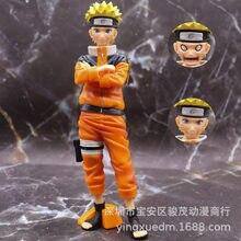 Naruto Uzumaki Naruto Gezicht Veranderende Grote Staande Ver. Pvc Action Figure Naruto Shippuden Collectible Model 24Cm