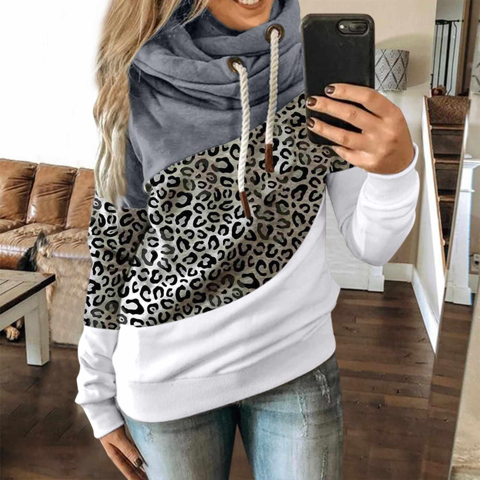 Pandaie Mens Hoodie Pullover Slim Patchwork Long Sleeve Sweatshirt Hooded with Pocket Hoodies Outwear