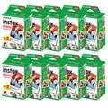 Пленка Fujifilm instax mini 9 mini11, 10-100 листов, белая, 3 дюйма, широкая пленка для мгновенной камеры mini 8 7s 25 50s 90, фотобумага