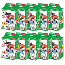 10-100 sheets Fujifilm instax mini 9 mini11 film white Edge 3 Inch wide film for Instant Camera mini 8 7s 25 50s 90 Photo paper