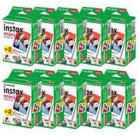 10-200 sheets Fujifilm instax mini 9 film white Edge 3 Inch wide film for Instant Camera mini 8 7s 25 50s 90 Photo paper
