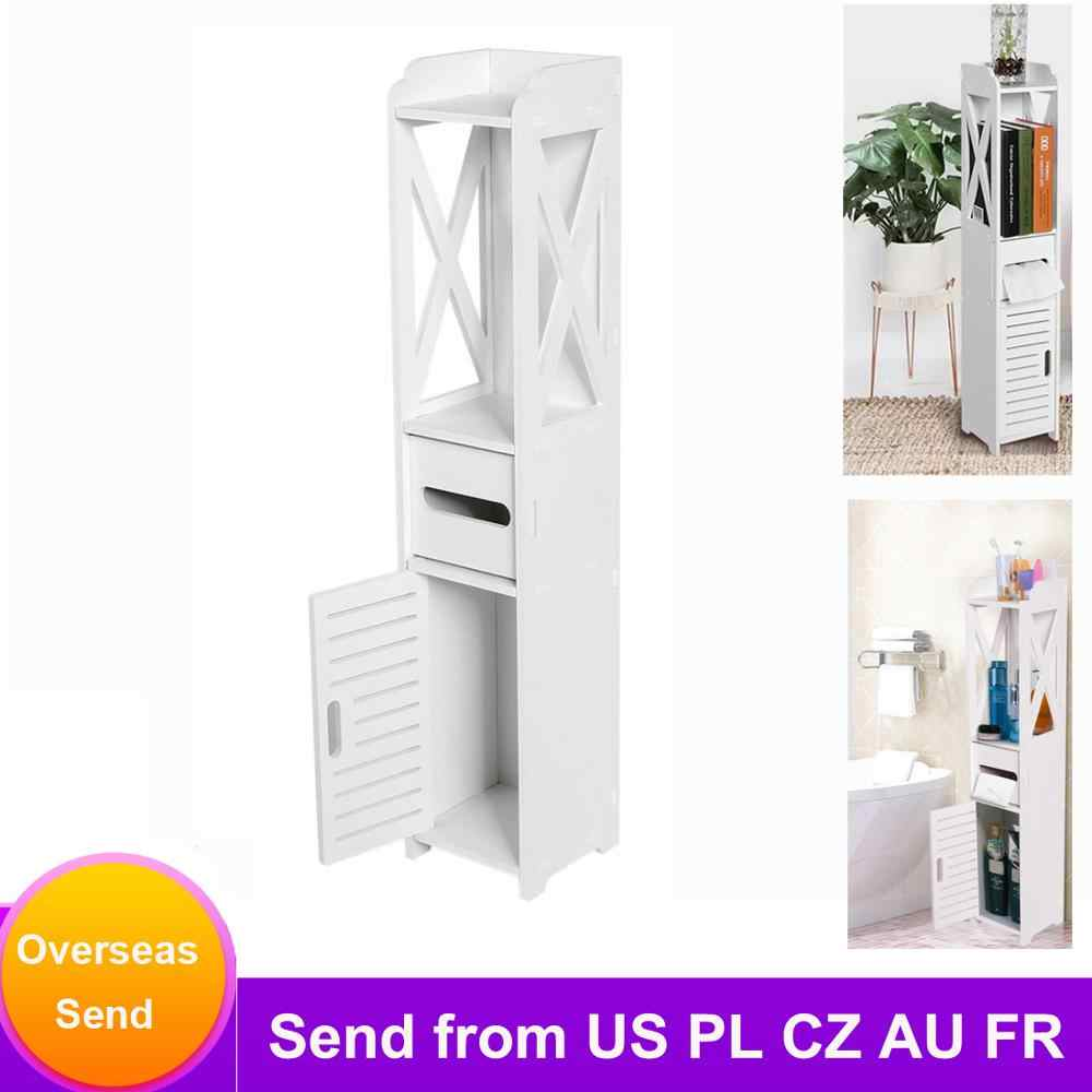 Armoire De Salle De Bain Salle De Bain Toilette Meuble Blanc Bois Plastique Planche Placard Etagere Tissu Etagere De Rangement 80 15 5 15 5cm Aliexpress