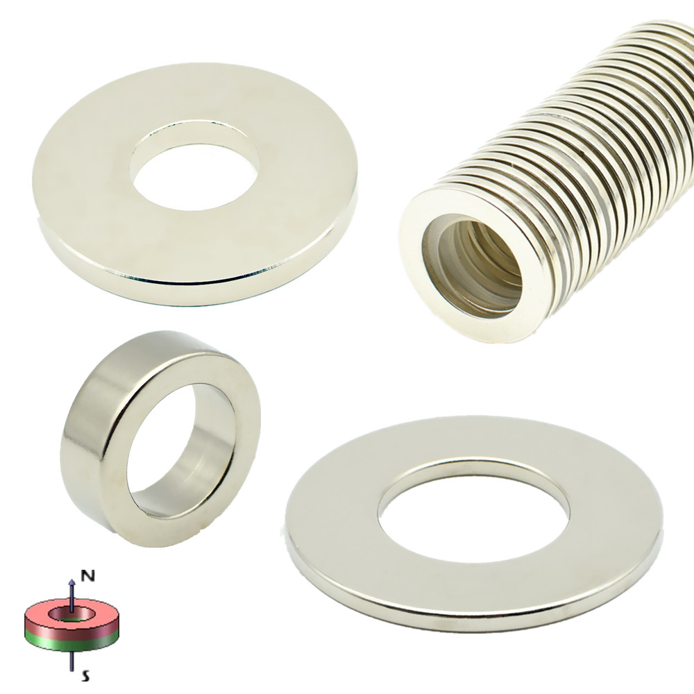 NdFeB Magnet Ring Dia. 14 15 16 50 60 70 80 100 mm Große Magnetische Ring 15 22 23 25 26 Neodym Drop Schiff