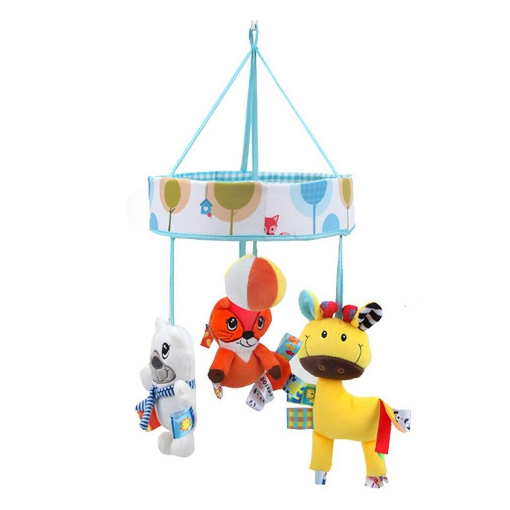 Bed Hanging Rattles Toys Hanger DIY Simple Fun Li Crib Mobile Bed Bell Toy Holder 360 Degree Rotate Arm Bracket Set