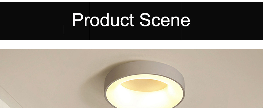 H1990e54ac61e4efea2b44b5575f7b30cO Round Modern Led Ceiling Lights For Living Room Bedroom Study Room Dimmable+RC Ceiling Lamp Fixtures