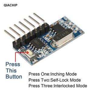 Image 2 - QIACHIP 10 шт., супер гетеродинный модуль приемника 433,92 МГц с декодированием, беспроводной модуль декодирования, дистанционное управление, 1527 обучение