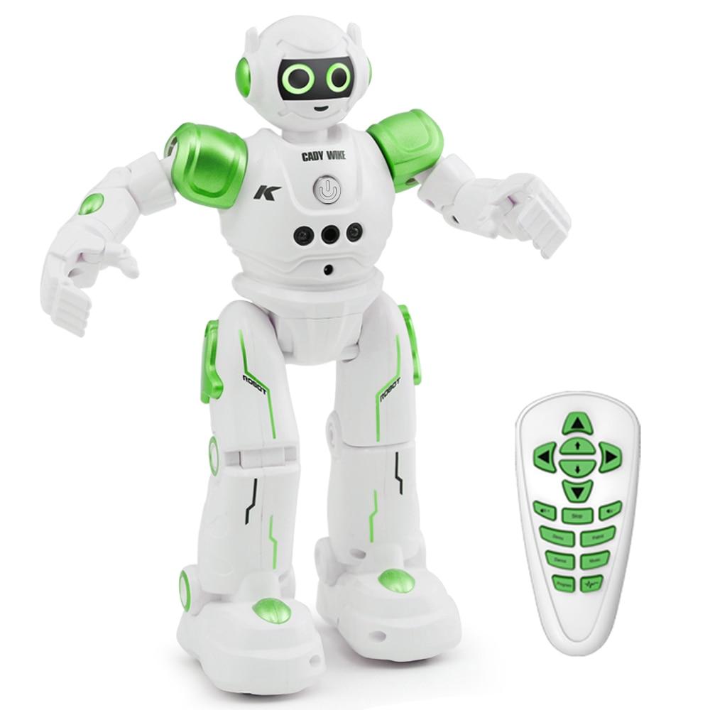 Puzzle télécommande intelligente détection tactile geste détection Robot Intelligent évitement d'obstacles chant et danse Robot jouets