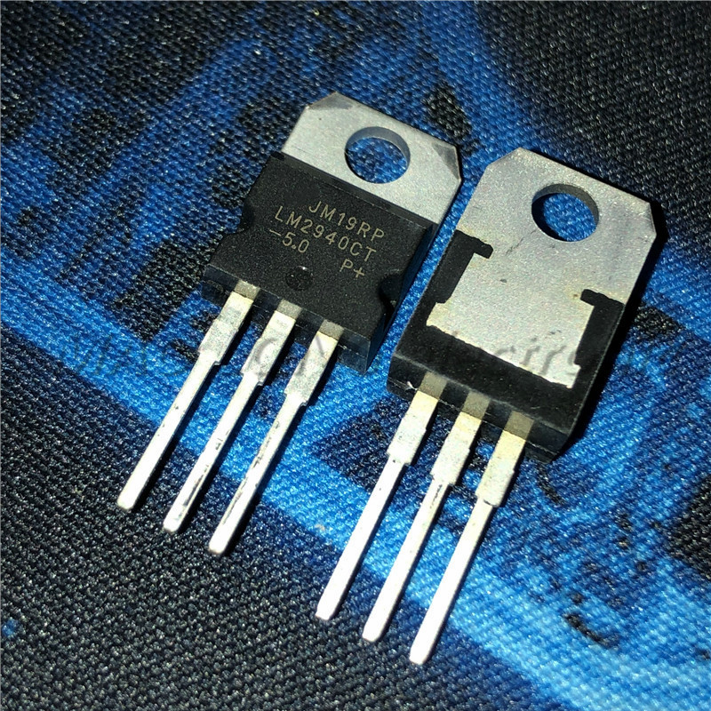 50pcs/lot LM2940CT-5.0 5V LM2940 TO-220 Low dropout voltage regulator image