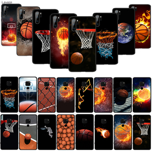 Lavaza Fiery Basketball Slam Dunk TPU Phone Silicone Cover for Huawei P10 P20 P30 Lite Pro P Smart Z Soft Case(China)