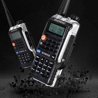 vhf uhf צריכת חשמל גבוהה FM Baofeng BF-Uvb2 Uvb2 פלוס עבור CB רדיו במכונית 8W ווקי טוקי החדש משדר VHF הלהקה כפול UHF רדיו ניידים (2)