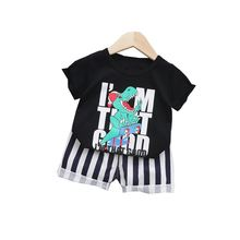 Модная летняя одежда для маленьких девочек детская спортивная