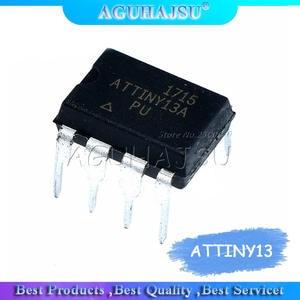 1PCS   ATTINY13A  ATTINY13A-PU ATTINY13  DIP-8 AVR microcontroller