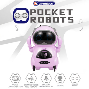 Image 1 - RC Toys for Children 939A Pocket Robot Talking Interactive Dialogue Voice Recognition Record Singing Dancing Telling Story Toy