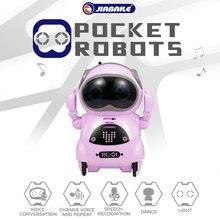 Zabawki zdalnie sterowane dla dzieci 939A kieszonkowy Robot rozmowa interaktywny dialog rozpoznawanie głosu nagrywanie śpiewanie taniec opowiadanie historia zabawka
