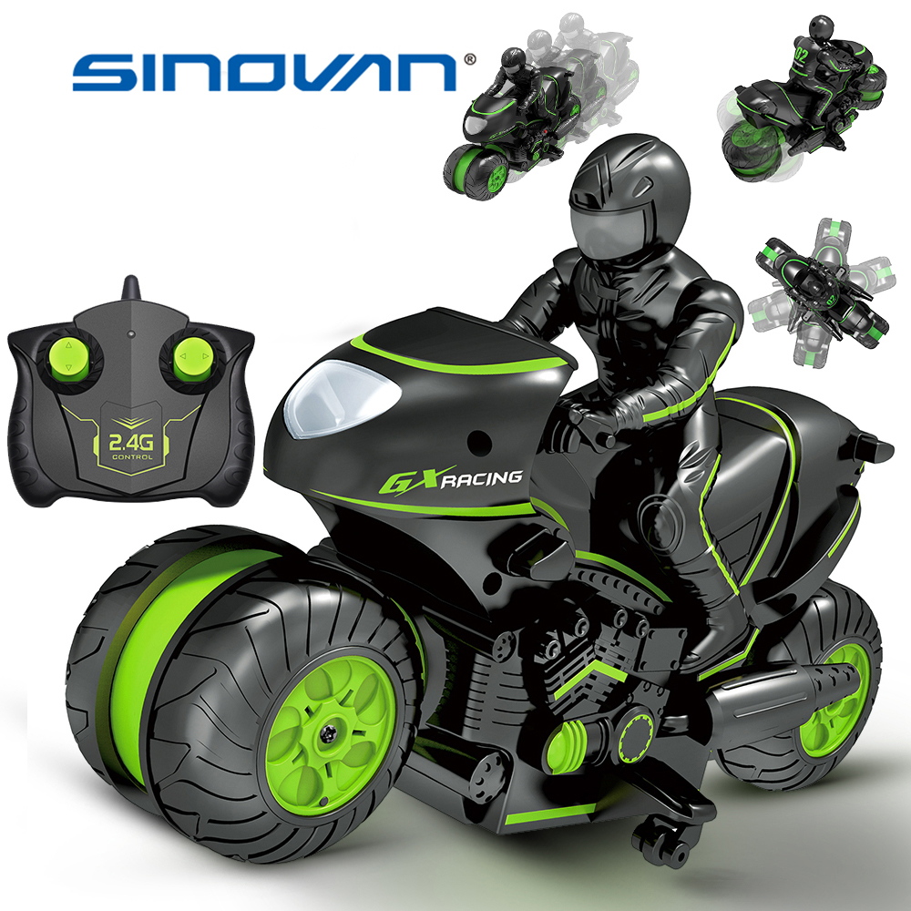 Creat Mini Moto Kids Motorcycle Electric Remote Control RC Car Mini Motorcycle 2.4Ghz Racing Motorbike Boy Toys For Children